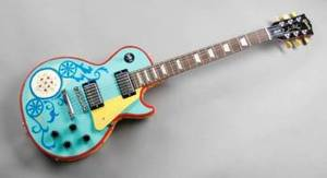 PAUL SMITH DESIGNED GIBSON LES PAUL GUITAR