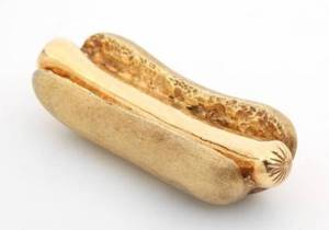 ROBERT GOULET GOLD HOT DOG