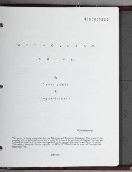 ANN MILLER MULHOLLAND DRIVE SCRIPT