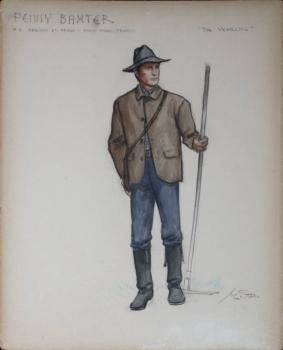 THE YEARLING COSTUME DRAWINGS BY GILE STEELE