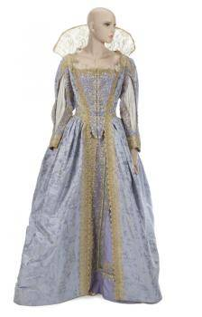 JOAN COLLINS OVER THE MOON PERIOD COSTUME