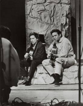 JOHNNY CASH AND BOB DYLAN VINTAGE PHOTOGRAPHS