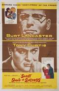TONY CURTIS SIGNED FILM POSTER