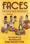 FACES 1972 TOUR POSTER