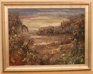 Forest Jacobs Oil on Canvas  Landscape