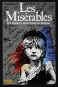 LES MISERABLES SIGNED LOBBY CARD
