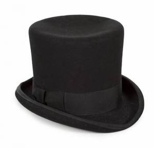 STEVIE NICKS STAGE WORN TOP HAT