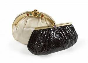 LONI ANDERSON JUDITH LEIBER EVENING BAGS