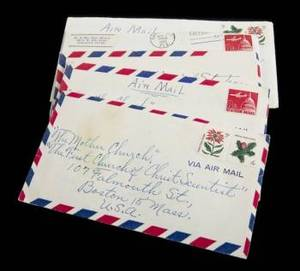 LETTERS BY AND REGARDING MARILYN MONROES MOTHER