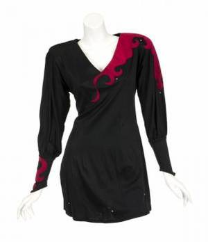 ANN WILSON STAGE WORN TOP