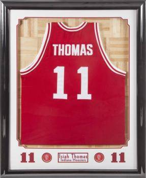 buy online a7a78 3feac Realized price for ISIAH THOMAS INDIANA HOOSIERS FRAMED