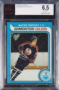 WAYNE GRETZKY 197980 TOPPS ROOKIE CARD GRADED BVG 65