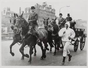 MUHAMMAD ALI ORIGINAL 1966 WIRE PHOTOGRAPH