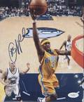 CHRIS PAUL SIGNED NEW ORLEANS HORNETS PHOTOGRAPH