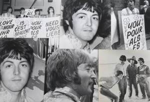 THE BEATLES GROUP OF IMAGES