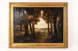 Ferdinand Danton Jr Landscape Oil on Canvas