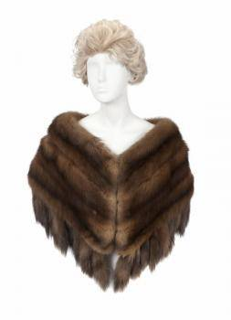 PHYLLIS DILLER RUSSIAN SABLE CAPELET
