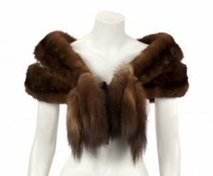 PHYLLIS DILLER RUSSIAN SABLE SCARF