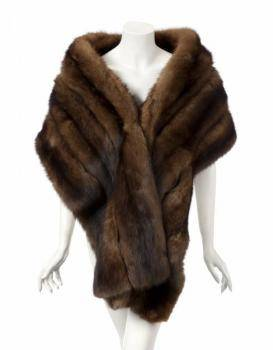 PHYLLIS DILLER RUSSIAN SABLE STOLE