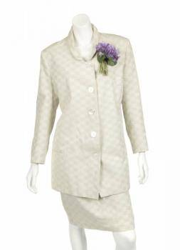 PHYLLIS DILLER PUBLICITY EVENT WORN SKIRT SUIT