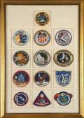 JONATHAN WINTERS APOLLO MISSION PATCHES