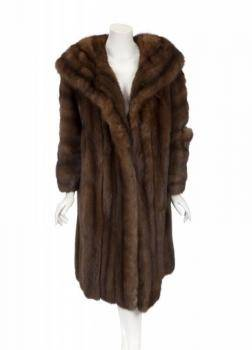 PHYLLIS DILLER RUSSIAN SABLE COAT