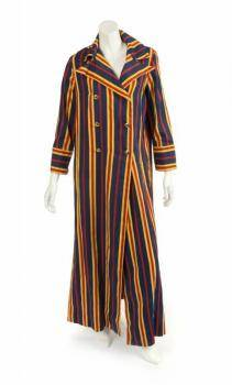 PHYLLIS DILLER BLUE AND YELLOW COSTUME ENSEMBLES