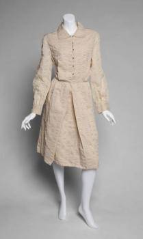 GRETA GARBO COTTON SHIRT DRESS