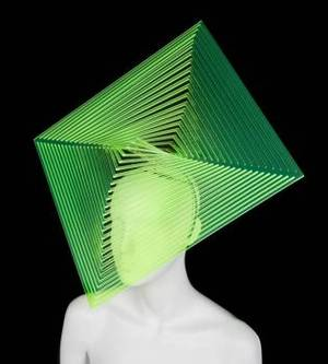 LADY GAGA PHILIP TREACY HEADDRESS