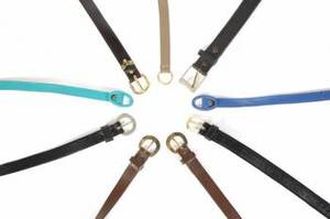 GRETA GARBO COLLECTION OF LEATHER BELTS