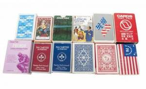 GRETA GARBO COLLECTION OF PLAYING AND NOVELTY CARDS