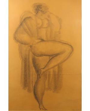 IGOR GALANIN RUSSIANAMERICAN 1937 Posing Nude