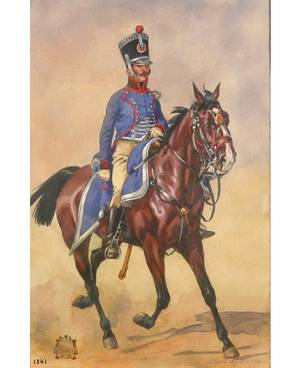 AFTER ALFRED DE DREUX FRENCH 18101860 Cavalier a Cheval