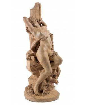 ALBERTERNEST CARRIERBELLEUSE FRENCH 18241887 Angelique Chained to a Rock