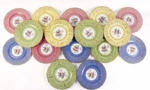 Set of 16 Royal Bavarian Hutschenreuther Plates