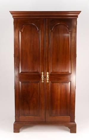 Stickley Mahogany Two Door Wardrobe