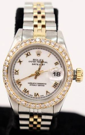 Classic Ladies Rolex Wrist Watch