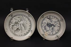Group of Two Chinese Kangxi Plates