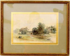 Henri Perre Canadian Landscape Watercolor