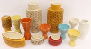 Collection of McCoy Pottery13 Items