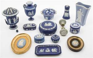 A Collection of Wedgwood Jasperware Articles