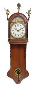 A Dutch Oak Wall Clock