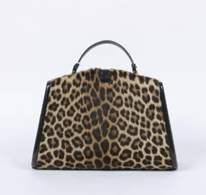 Nettie Rosenstein Leopard Handbag