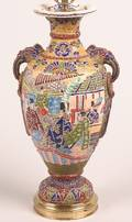 A Chinese Enameled Ceramic Vase