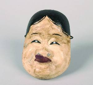 A Japanese Noh Mask of Woman