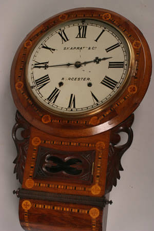 An Eight Day Time and Strike Wall Clock