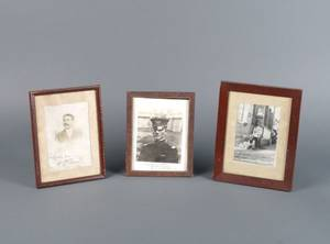 A COLLECTION OF AUTOGRAPHED PHOTOGRAPHS OF MILITARY FIGURES