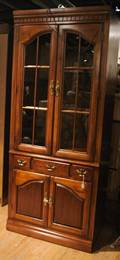 A Pair of Georgian Style Display Cabinets
