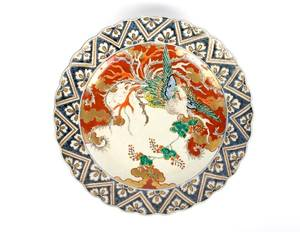 A Japanese Imari Porcelain Charger