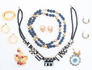 A Collection of Sterling Silver and Fashion Jewelry